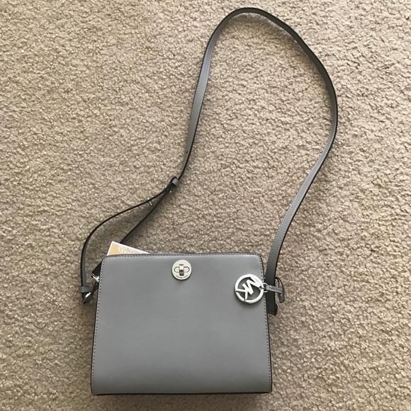 3700325eb6dc0d Michael Kors Bags | Nwt Rivington Messenger Leather Bag | Poshmark